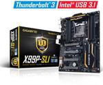 GIGABYTE анонсирует первую в мире сертифицированную материнскую плату с интерфейсом Intel® Thunderbolt™3 на базе чипсета Intel® X99 Express
