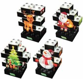 Конструктор Light Stax с LED подсветкой Puzzle Christmas Edition (LS-M03003)