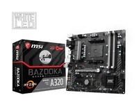 MSI A320M BAZOOKA Socket AM4