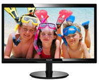 "Монитор Philips 24"" 246V5LDSB/00 Black"