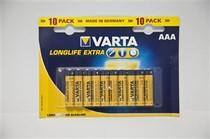 Батарейка VARTA LONGLIFE Extra AAA BLI10 ALKALINE