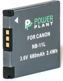 Аккумулятор PowerPlant Canon NB-11L 680mAh (DV00DV1303)