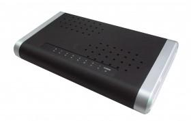 Коммутатор Gembird 10/100/1000Mb Plastic 8 ports