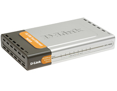 Коммутатор D-Link DES-1008D 8-port 10/100Mbps switch