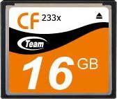Карта памяти CompactFlash 16Gb Team 233x