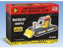Конструктор Same Toy Inteligent DIY Model Car Бульдозер (58035Ut)