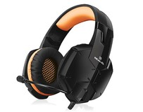 Гарнитура REAL-EL GDX-7700 Black/Orange