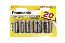 Батарейка Panasonic Alkaline Power AA/LR06 BL 20 шт