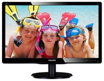 "Philips 19.5"" 200V4LAB2/01 Black"