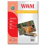 Фотобумага WWM (G180.A3.20)
