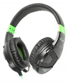 Гарнитура Maxxter Sonar H1 Black/Green