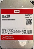 Жесткий диск HDD SATA 8.0TB WD Red NAS 5400rpm 256MB (WD80EFAX)