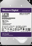 Жесткий диск HDD SATA 12.0TB WD Purple 7200rpm 256MB (WD121PURZ)
