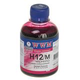 Чернила WWM HP 10/11/12 (Magenta) (H12/M) 200г