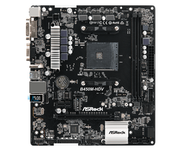 ASRock B450M-HDV Socket AM4-HDV