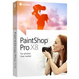Corel PaintShop Pro X8 Card (PSPX8MLCARD)