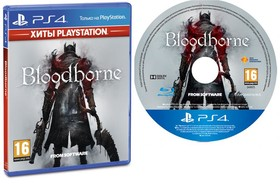 Игра Bloodborne для Sony PlayStation 4, Russian subtitles, Blu-ray (9438472)