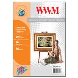 """Фотобумага WWM, Fine Art глянцевая """"Жемчуг"""" GP200.10"""