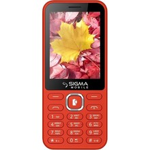 Sigma mobile X-style 31 Power Dual Sim Red