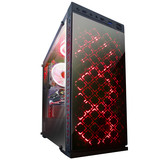 Корпус Frime Illusion red led USB 3.0 без БП (Illusion-U3-GLS-4RDRF)
