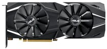 Видеокарта GF RTX 2080 Ti 11GB GDDR6 Dual Advanced Edition Asus (DUAL-RTX2080TI-A11G)