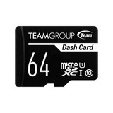 Карта памяти MicroSDXC  64GB UHS-I Class 10 Team Dash Card + SD-adapter (TDUSDX64GUHS03)