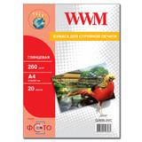 Фотобумага WWM (G260N.20/C)