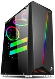 Корпус 1stPlayer Rianbow-R3 Color LED Black без БП 6931630200376