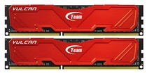 DDR4 2x4GB/2400 Team T-Force Vulcan Red (TLRED48G2400HC14DC01)