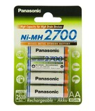 Аккумуляторы Panasonic High Capacity AA/HR06 NI-MH 2700 mAh BL 4 шт