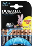 Батарейка Duracell Ultra Power AAA/LR03 BL 8шт