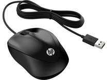 Мышь HP Wired 1000 (4QM14AA) Black USB