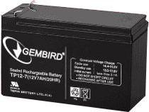Аккумуляторная батарея Gembird BAT-12V7.5AH
