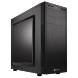 Корпус Corsair Carbide 100R Black (CC-9011075-WW) без БП