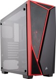 Корпус Corsair Carbide SPEC-04 Tempered Glass Black/Red (CC-9011117-WW) без БП