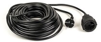 Удлинитель PowerPlant JY-3021/20 (PPEA16M200S1) 1 розетка, 20 м, черный