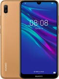 Huawei Y6 2019 Dual Sim Brown Faux Leather