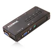 Коммутатор KVM Edimax EK-PAK4 с поддержкой Audio/Mic на 4 ПК с комплектом кабелей