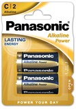 Батарейка Panasonic Alkaline Power C/LR14 BL 2 шт