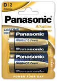 Батарейка Panasonic Alkaline Power D/LR20 BL 2 шт