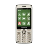 Assistant AS-204 Dual Sim Gold