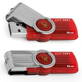 USB 8GB Kingston DataTraveler 101 G2 (DT101G2/8GB) Red