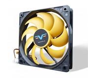 Вентилятор Frime (FYF120HB3) 120x120x25мм, 3Pin, Black/Yellow