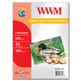 Фотобумага WWM (G225.100)
