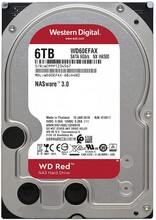Жесткий диск HDD SATA 6.0TB WD Red NAS 5400rpm 256MB (WD60EFAX)