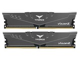 Оперативная память DDR4 2x4GB/2666 Team T-Force Vulcan Z Gray (TLZGD48G2666HC18HDC01)
