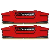 Оперативная память DDR4 2х8GB/3000 G.Skill Ripjaws V Red (F4-3000C16D-16GVRB)
