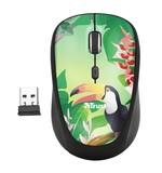 Мышь беспроводная Trust Yvi Toucan (23389) Black USB