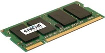 Оперативная память SO-DIMM 2GB/800 DDR2 Crucial (CT25664AC800.Y16F) Ref