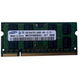 Оперативная память SO-DIMM 2GB/800 DDR2 Samsung (M470T5663EH3-CF7) Refurbished